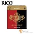 竹片►美國 RICO Grand Concert Select 豎笛/黑管 竹片 Thick Blank 3.5號 Bb Clarinet (10片/盒)【紅黑包裝】
