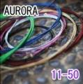 AURORA 美國進口紫色民謠弦(11-50)【進口弦專賣店/木吉他弦】