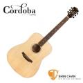 cordoba木吉他 ▷ Cordoba 美國品牌 D3 單板民謠吉他 (桶身: D桶身) 附原廠琴袋、PICK×2、移調夾、背帶