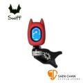 調音器 ▻ SWIFF A72 蝙蝠造型可愛調音器 Tuner (烏克麗麗/吉他/提琴/貝斯皆可用 全音域) 原廠公司貨 附中文說明書