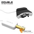 Double A2U 烏克麗麗專用拾音器 Ukulele Pickup 下弦枕/麥克風雙拾音 尾釘前置擴大