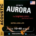 AURORA A10-48 磷青銅民謠吉他弦 60年工藝 美國製 (10-48)【木吉他弦】