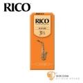 竹片►美國 RICO 中音 薩克斯風竹片 3.5號 Alto Sax (25片/盒)【橘包裝】