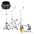 MAPEX 爵士鼓架>  Mapex HP6005-DP 雙踏 MARS600 鼓架五件組(B600銅鈸架×2、HiHat架H600×1、P600TW大鼓雙踏、S600小鼓架) 【功學社雙燕公司貨】