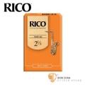 竹片►美國 RICO 次中音 薩克斯風竹片 2.5號 Tenor Sax (10片/盒)【橘包裝】