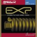 D'addario-EXP10黃銅包覆民謠弦(10-47)【DAddario】