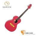 韓國SAMICK馬卡龍P-2T吉他(無拾音器/內建調音器)印尼製造-附吉他袋與配件