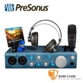 PreSonus AudioBox iTwo STUDIO 錄音組(AudioBox iTwo錄音介面+HD7耳機+M7麥克風+麥克風線)/公司保固