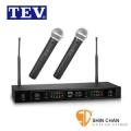 無線麥克風 ► TEV TR-726 UHF數位對頻 無線接收機 附二支無線麥克風(適用於家庭卡拉OK)