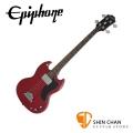 Epiphone EB-0 復古 電貝斯 紅色【A Classic 60's Bass】附琴袋、導線、PICK、琴布、背帶