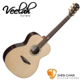 Veelah 吉他 V8-OM 全單板 民謠吉他-附贈Veelah木吉他硬盒 OM桶身 台灣公司貨 Veelah V8OM 木吉他