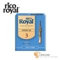 竹片►美國 RICO ROYAL 高音 薩克斯風竹片 3號 Soprano Sax (10片/盒)