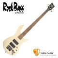 Rockbass Streamer Warwick 副廠 四弦電貝斯 米白色【Warwick電貝斯專賣店/貝斯品牌】
