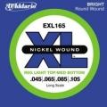 美國D'Addario EXL165貝斯弦(045~105)【貝斯弦專賣店/進口貝斯弦/EXL-165/DAddario】