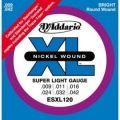 D'Addario ESXL120 電吉他弦(09-42)(無琴頭專用弦)【Daddario進口弦專賣店/電吉他弦/ESXL-120】