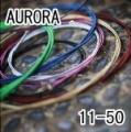 AURORA 美國進口黑色民謠弦(11-50)【AURORA吉他弦專賣店/進口弦】