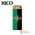 竹片►美國 RICO Grand Concert Select 上低音 薩克斯風竹片  2.5號 Baritone Sax (5片/盒)【綠黑包裝】