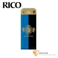 竹片►美國 RICO Grand Concert Select 低音 豎笛/黑管 竹片 4號 Bass Clarinet (5片/盒)【藍黑包裝】