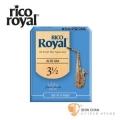 竹片►美國 RICO ROYAL 中音 薩克斯風竹片 3.5號 Alto Sax (10片/盒)