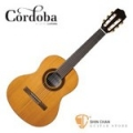 Cordoba 美國品牌 Requinto 580 1/2單板古典吉他 附琴袋 木踏板 擦琴布【1/2琴身/弦長:58cm/34吋】
