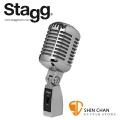 Stagg ADM100 CR 復古動圏式麥克風 人聲專用 附收納盒,麥克風線(XLR to XLR)