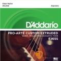 D'Addario EJ65S 21吋烏克麗麗弦 Soprano (適用調弦法:1B-2F#-3D-4A)【EJ-65S/UKULELE/DAddario】