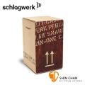 德國 Schlagwerk(斯拉克貝克)CP404 RED 木箱鼓 貨運板條箱造型 2inOne(大)【型號:CP 404 RED】