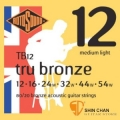 ROTOSOUND TB12 銅合金民謠吉他弦(12-54)【英國製/木吉他弦/TB-12】