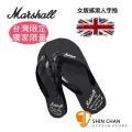 英國經典音箱品牌 Marshall 人字拖/拖鞋(台灣製造/台灣限定)女生款尺吋-搖滾吉他手必備