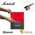 英國 Marshall Stockwell 攜帶式藍牙喇叭/含原廠皮套組(經典黑色Black )/可當行動電源/公司貨保固