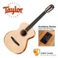 Taylor  A12e-N 單板 可插電 古典吉他 Academy 12e-N 《學院系列Academy Series》 內建調音功能 GC桶身/古典吉他/尼龍吉他(A12E 附原廠琴袋)台灣公司貨