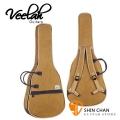 Veelah吉他袋 41吋 卡其色厚袋(雙揹/木吉他/民謠吉他厚袋)V1/V3/V5/V6/OM 推薦原廠吉他袋