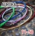 AURORA 美國進口紅色民謠弦(11-50)【吉他弦專賣店/進口弦】