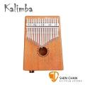 Kalimba KA-17E 可插電卡林巴琴 桃花心木/拇指琴/手指鋼琴/手指琴 17音 附收納束口袋、調音鎚、音階表