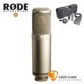 RODE K2 電容式麥克風 大震膜 可變指向 心型/雙指向/全指向 錄音室 直播 台灣公司貨保固