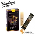 Vandoren 竹片 ZZ 黑盒 中音薩克斯風 2號半 2.5 竹片(10片/盒)Alto Sax【型號:SR4125】