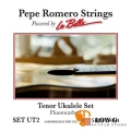 Pepe Romero Strings 碳纖維 26吋 Low G 烏克麗麗弦 型號: SET UT2【La Bella】