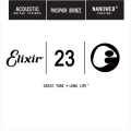 Elixir 木吉他弦 14123 第3弦 Phosphor Bronze 磷青銅 紅銅 Nanoweb /單弦 .23 elixir零弦 台灣公司貨