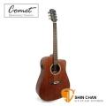 Comet吉他►Comet C48M-E 全桃花心木 可插電民謠吉他 41吋電木吉他+美國Fishman拾音器EQ (D型琴身)
