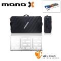美國 MONO PEDALBOARD LARGE 銀色大型效果器盤 +  PRO 2.0 大型效果器袋 軍事化防震防潑水【PFX-PB-L-SLV】