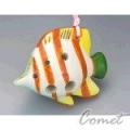 四孔陶笛 長嘴熱帶魚 (ZK1-3) 內附簡易指法表 【4孔陶笛】
