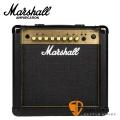 Marshall MG15FX Gold 電吉他音箱 內建效果器 經典金色面板(15瓦/15w)【MG15GFX/MG-15GFX/電吉他音箱專賣店】