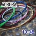 AURORA 美國進口藍色民謠弦(10-48)【進口弦專賣店/木吉他弦】