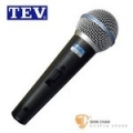 TEV PRO-II 舞台專業用動圈式麥克風【PRO II/附原廠麥克風線】