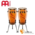 Meinl 暹羅橡木 康加鼓 一組二顆/附贈鼓架 Amber Flame Conga 顏色:琥珀火焰【型號:MCC1134AF+MCC11AF/打擊樂器/手鼓】