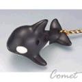 四孔陶笛 殺人鯨造型 (ZK1-7) 內附簡易指法表 【4孔陶笛】