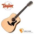 12弦吉他 Taylor 150e / 十二弦 單板吉他 可插電 / 12弦民謠吉他 附原廠厚袋 150-e/木吉他/DN桶身 台灣公司貨