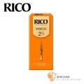 竹片►美國 RICO 高音 薩克斯風竹片 2.5號 Soprano Sax (25片/盒)【橘包裝】