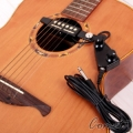 Guitar PU-33B 台灣製拾音器(民謠/古典吉他用)可調音量/音色 PU33B