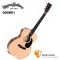 Sigma吉他 | Sigma 木吉他 000ME + 新款 41吋 可插電 民謠吉他 附贈吉他袋【源自Martin製琴工藝/台灣總代理公司貨/電木吉他】